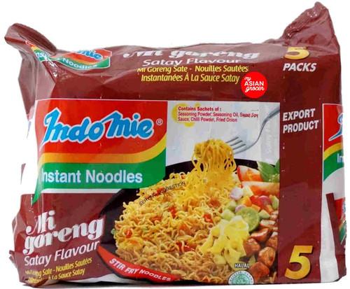 Indomie Mi Goreng Satay Flavour 80g x 5 Pack