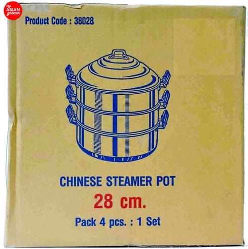 Chue Chin Hua Chinese Steamer Pot 28cm