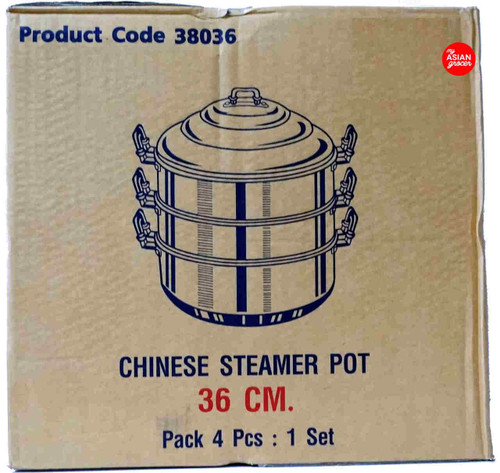 Chue Chin Hua Chinese Steamer Pot 36cm