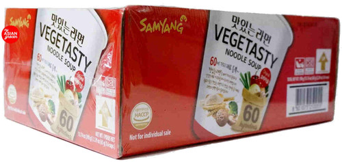 Samyang Vegetasty Noodle Soup 65g x 6 Cups