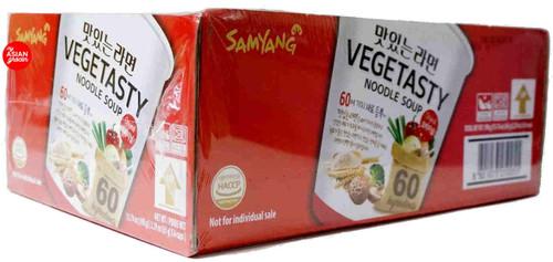 Samyang Vegetasty Noodle Soup 65g x 6 Cups