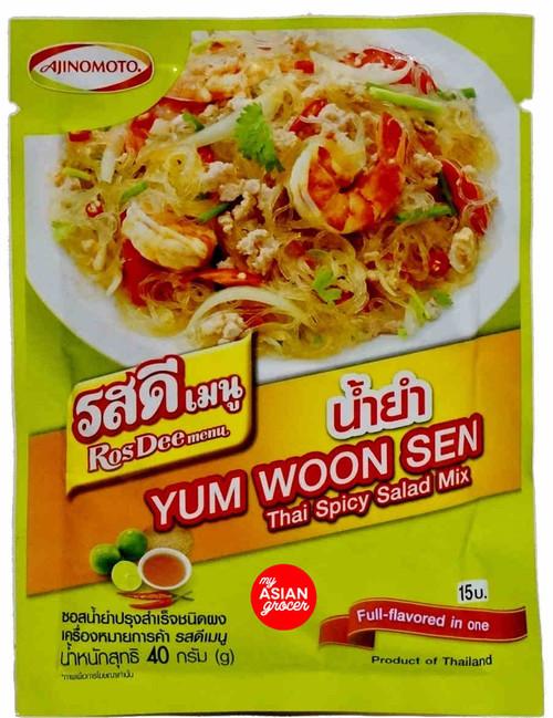 Ajinomoto Yum Woon Sen Thai Spicy Salad Mix 40g