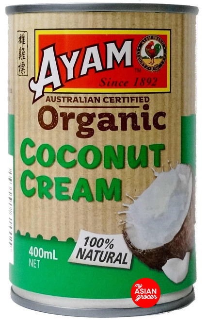 Ayam Organic Coconut Cream 400ml