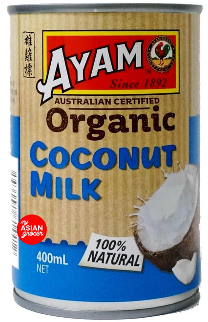 Ayam Organic Coconut Milk 400ml