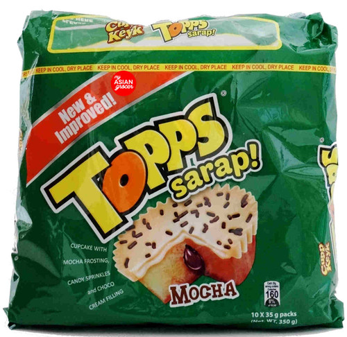Cupp Keyk Topps Sarap Mocha 350g