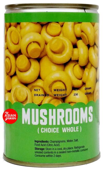 Dahlia Brand Mushrooms (Choice Whole) 425g