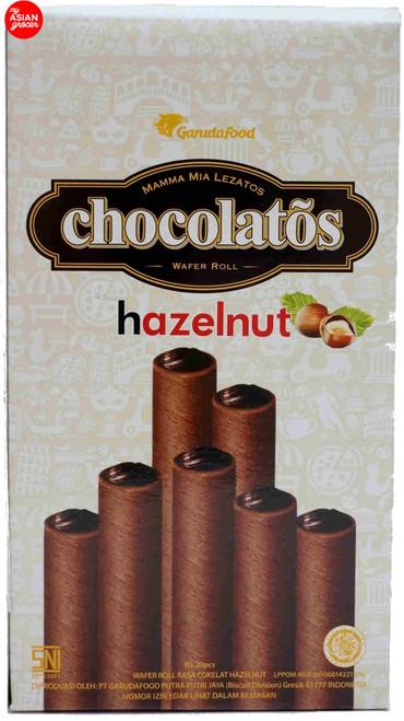 Garuda Food Chocolatos Hazelnut Wafer Roll 320g