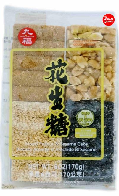 Nice Choice Mixed Peanut & Sesame Cake 170g