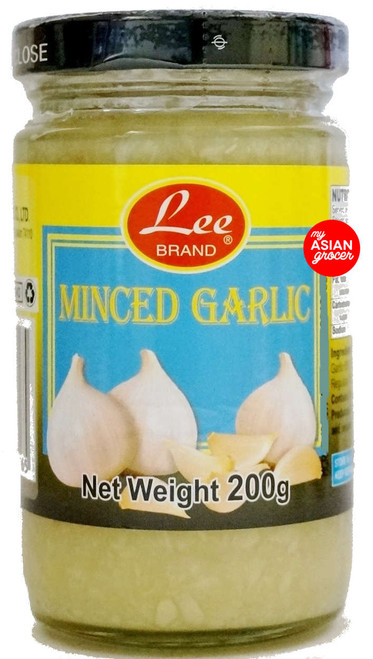 Lee Brand Minced Garlic 200g