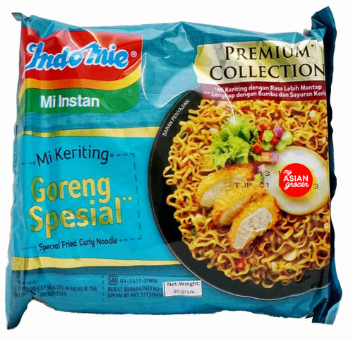 Indomie Goreng Spesial Fried Curly Noodle 80g
