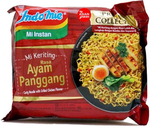 Indomie Rasa Ayam Panggang Curly Noodle 90g
