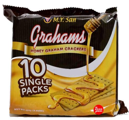 M.Y. San Honey Graham Crackers 250g