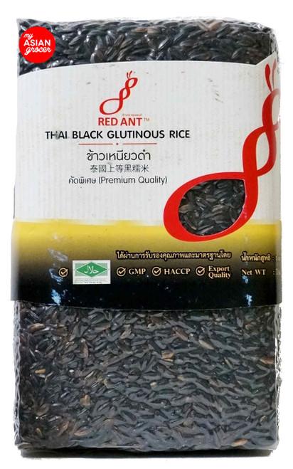 Red Ant Thai Black Glutinous Rice 1kg