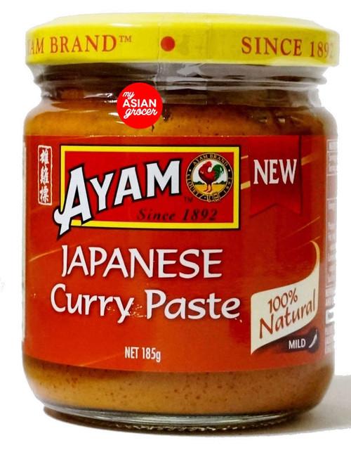 Ayam Japanese Curry Paste (Mild) 185g
