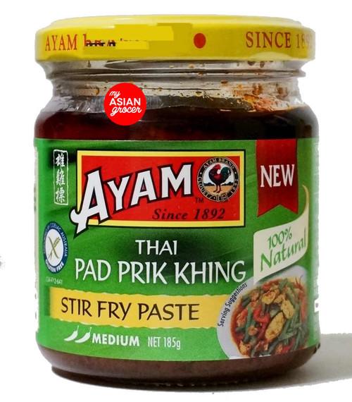 Ayam Thai Pad Prik Khing Stir Fry Paste (Medium) 185g