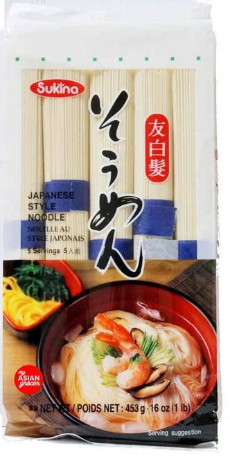 Sukina Japanese Style Noodle 453g