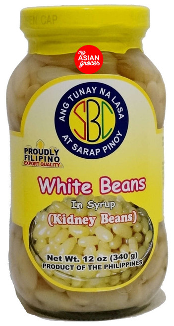 SBC White Beans in Syrup (Kidney Beans) 340g