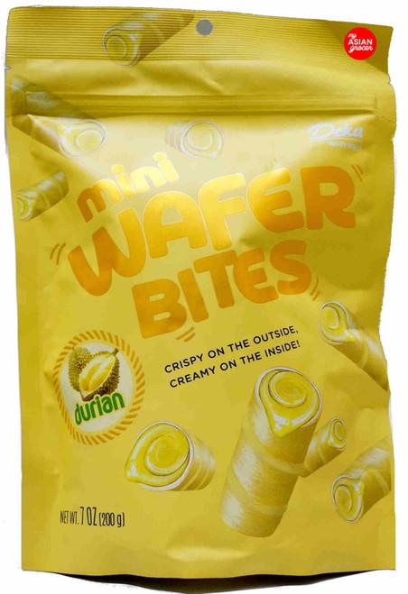 Deka Mini Wafer Bites Durian 200g