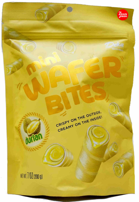 Deka Mini Wafer Bites Durian 200g