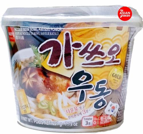 Wang Katsuo Udong Noodle Soup  Bowl 221g