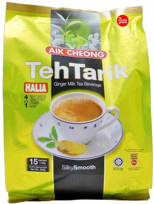 Aik Cheong Teh Tarik Ginger Milk Tea Beverage 40g x 15 Sachets