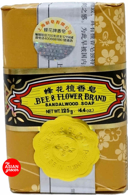 Bee & Flower Brand Sandalwood Soap 125g