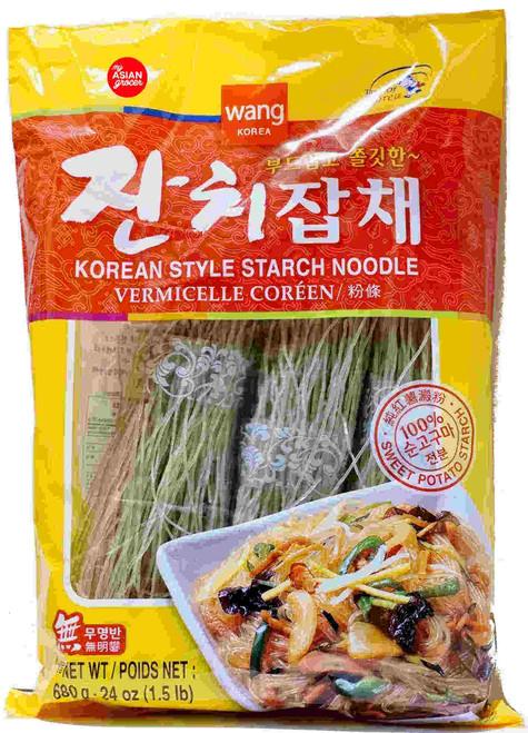 Wang Korea Korean Style Starch Noodle 680g