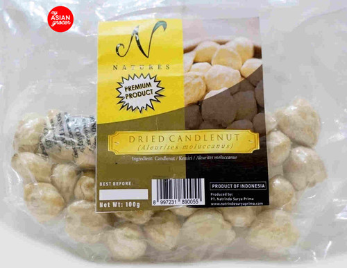 Natures Dried Candlenut 100g