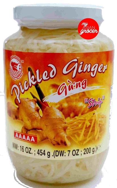 Red Drago Pickled Ginger (Strip) 454g