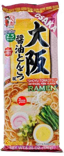 """Itsuki Osaka """"Shoyu Tonkotsu"""" Ramen 176g"""