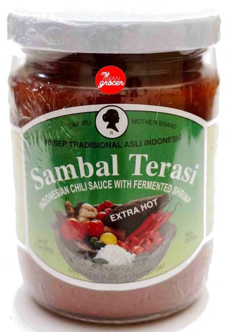 Mother Brand Sambal Terasi (Extra Hot) 260g