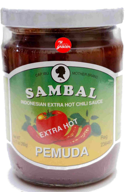 Mother Brand Sambal Pemuda (Extra Hot) 250g