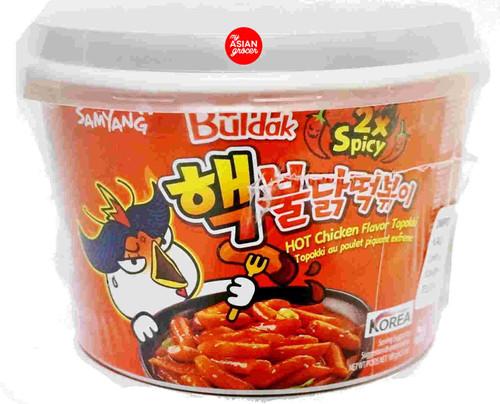 Samyang Buldak Hot Chicken Topokki (2x Spicy) 185g