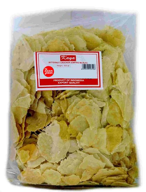 Kaya Bitternut Cracker (Emping Mlinjo) 500g
