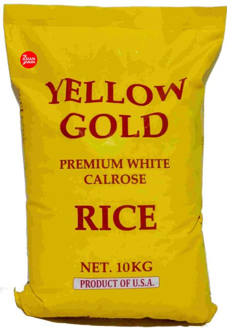 Yellow Gold Premium White Calrose Rice 10kg