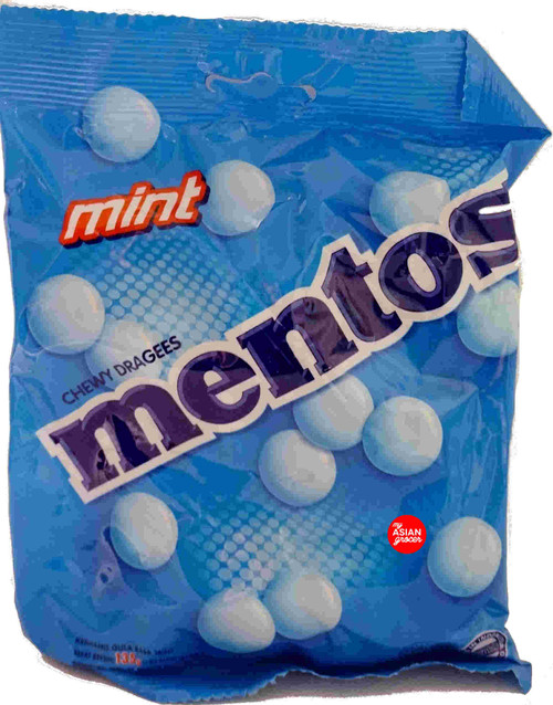 Mentos Mint Chewy Dragees 135g
