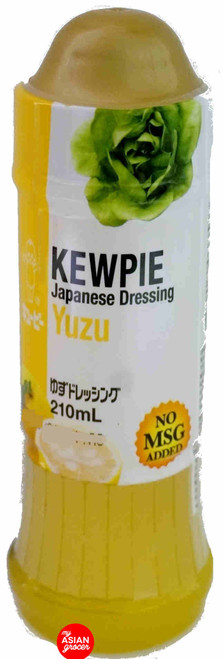Kewpie Japanese Dressing Yuzu 210ml
