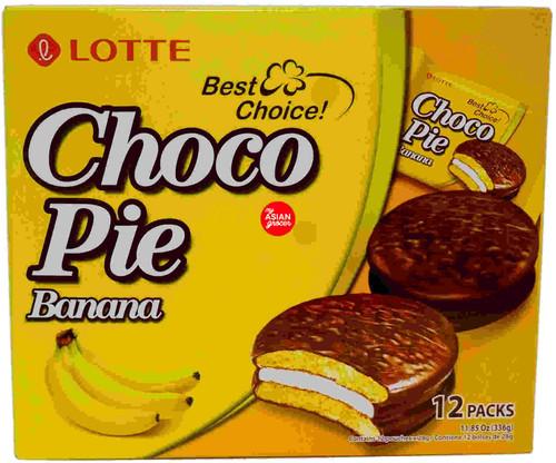 Lotte Choco Pie Banana 336g