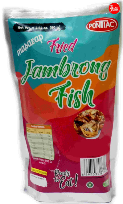 Pontiac Fried Jambrong Fish 80g