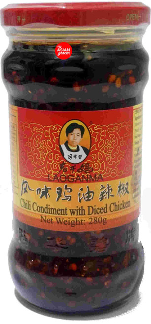 Laoganma Chili Condiment with Diced Chicken 280g
