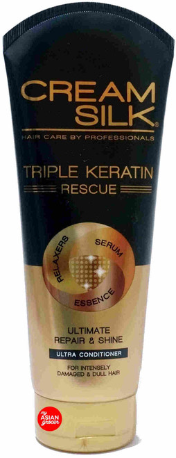 Cream Silk Triple Keratin Rescue Ultra Conditioner 340ml
