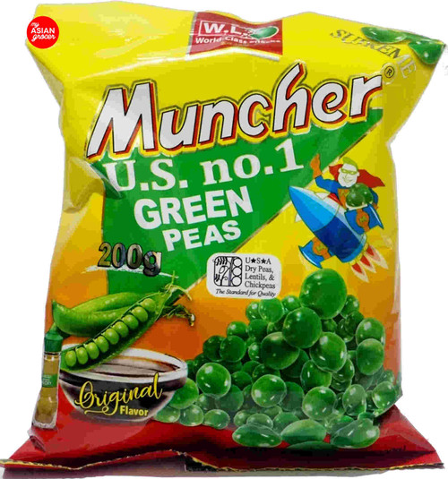 WL Foods Muncher Green Peas Original Flavor 200g