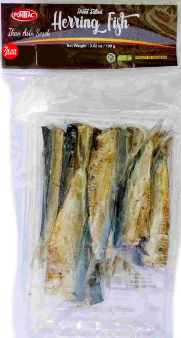 Pontiac Dried Salted Herring Fish 100g