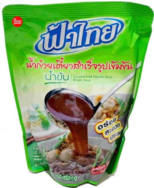 FaThai Concentrated Noodle Soup (Brown) 350g