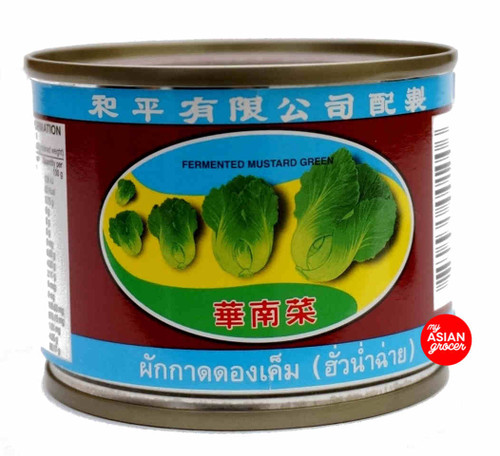 Pigeon Brand Fermented Mustard Green 140g
