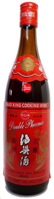Double Phoenix Shao Xing Cooking Wine 640ml