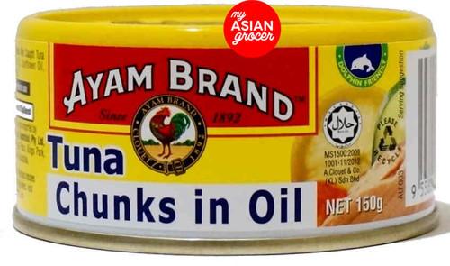 Ayam Tuna Chunks in Oil 150g