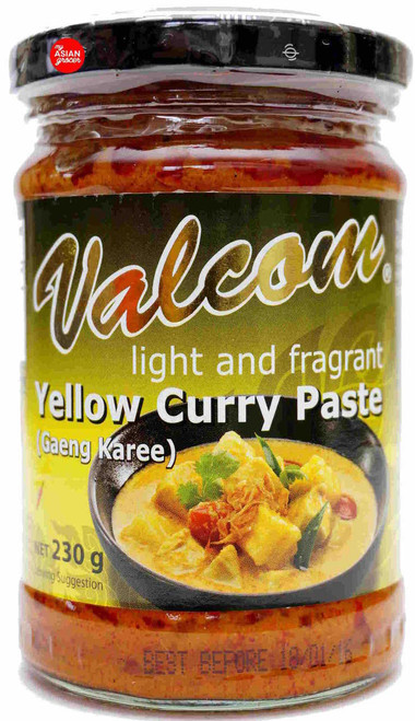 Valcom Yellow Curry Paste (Gaeng Karee) 230g