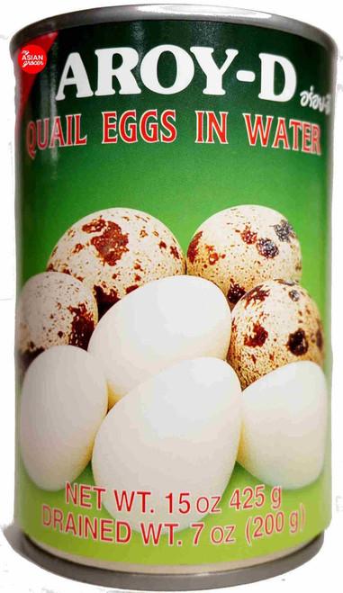 Aroy-D Quail Eggs in Water 400g