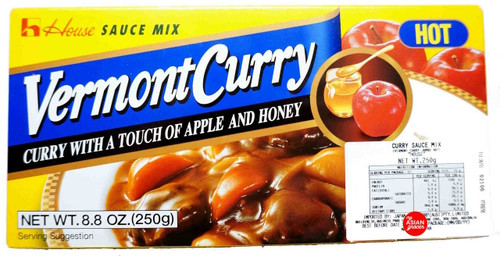 House Vermont Curry Sauce Mix (Hot) 230g